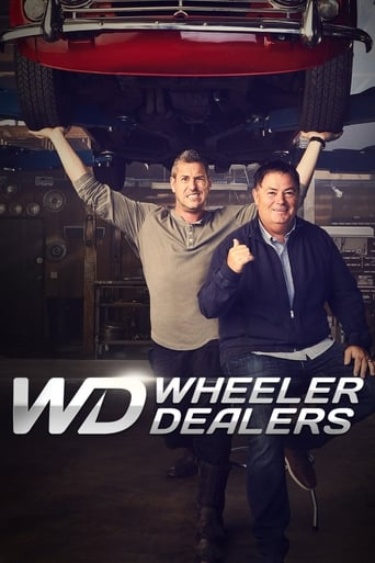 Från TV-serien Wheeler dealers som sänds på Kanal 9