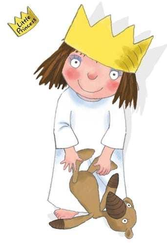 Från TV-serien Lilla prinsessan som sänds på Barnkanalen