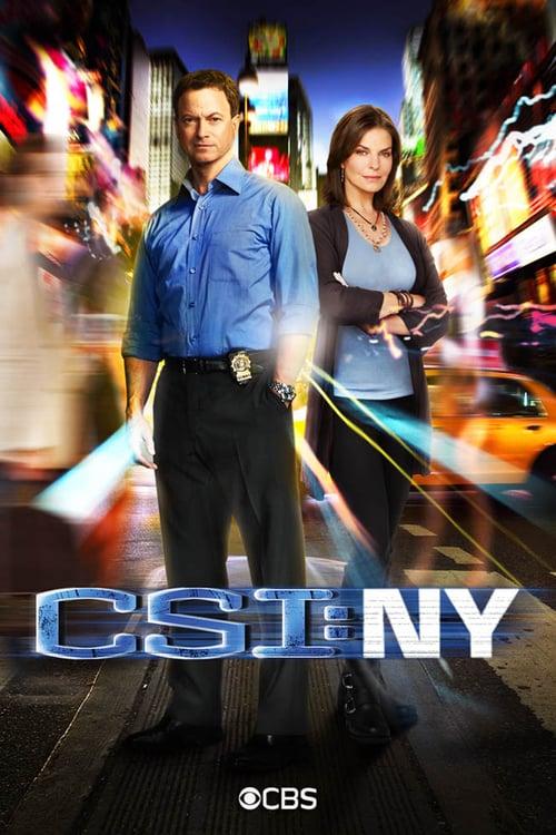Från TV-serien CSI: NY som sänds på Fox