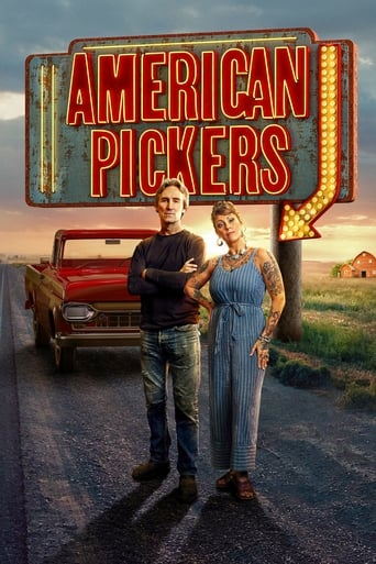 Från TV-serien American pickers som sänds på History Channel HD