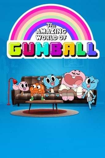 Bild från filmen Gumballs fantastiska värld