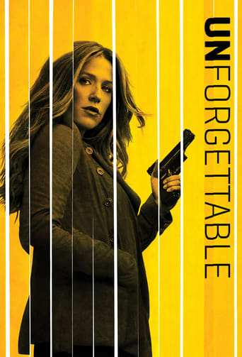 Från TV-serien Unforgettable som sänds på Viasat Series