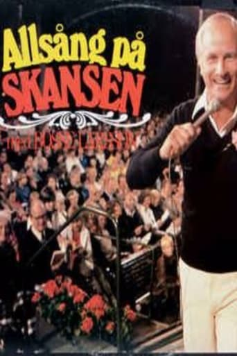 Från TV-serien Allsång på Skansen som sänds på SVT1