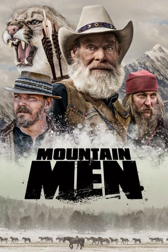 Från TV-serien Mountain men som sänds på TV10