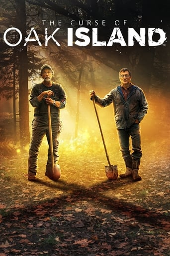Bild från filmen The curse of Oak Island