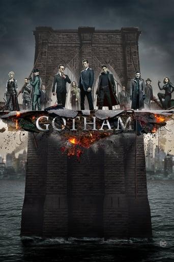 Från TV-serien Gotham som sänds på TV4 Guld