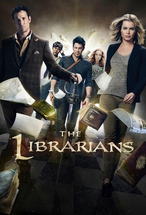 Från TV-serien The Librarians som sänds på Fox
