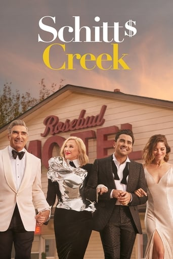 Från TV-serien Schitt's Creek som sänds på C More Series