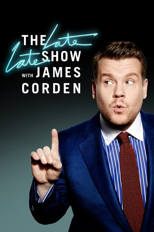 Från TV-serien The late late show with James Corden som sänds på Viasat Series