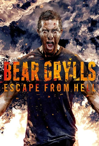 Från TV-serien Bear Grylls: Escape From Hell som sänds på Discovery Channel
