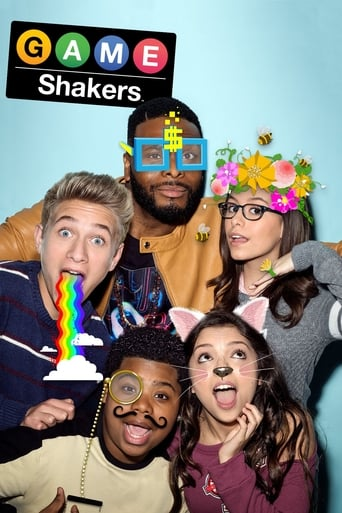 Från TV-serien Game Shakers som sänds på Nickelodeon