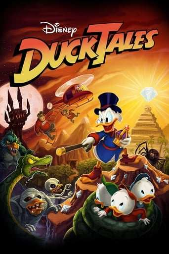 Från TV-serien Ducktales som sänds på Disney Channel