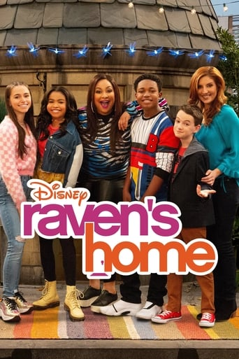 Från TV-serien Raven's Home som sänds på Disney Channel