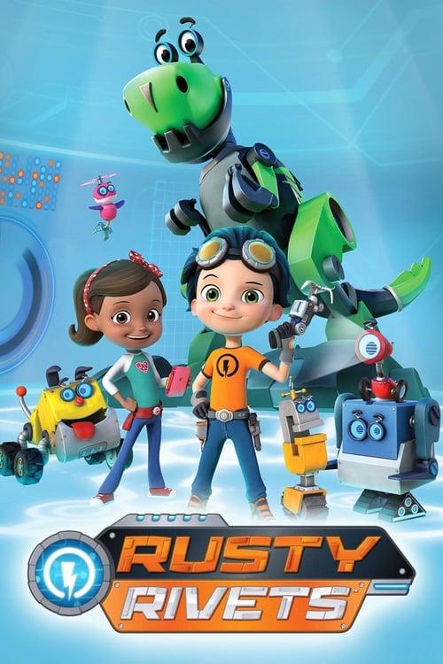 Från TV-serien Rusty Rivets som sänds på Nickelodeon