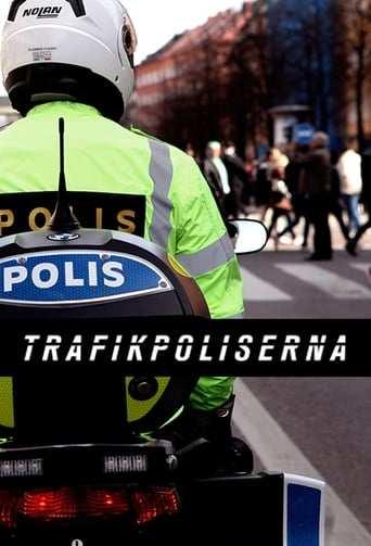 Från TV-serien Trafikpoliserna som sänds på Kanal 5