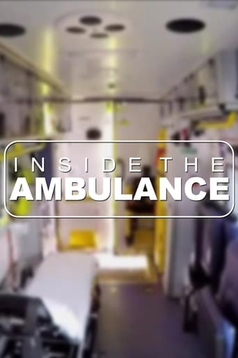 Från TV-serien Inside the ambulance som sänds på TV4 Fakta