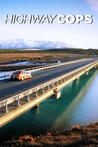 Från TV-serien Highway Cops som sänds på Kanal 9