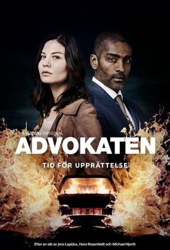 Från TV-serien Advokaten som sänds på TV3
