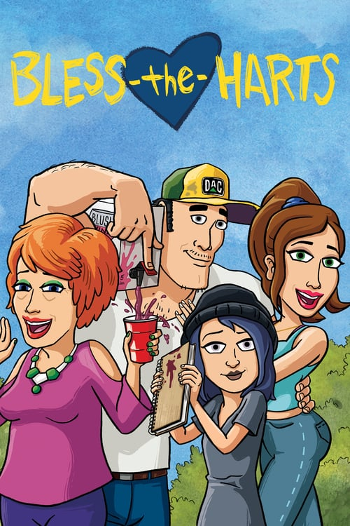 Från TV-serien Bless the Harts som sänds på Fox