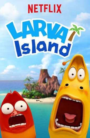Från TV-serien Larva som sänds på Barnkanalen