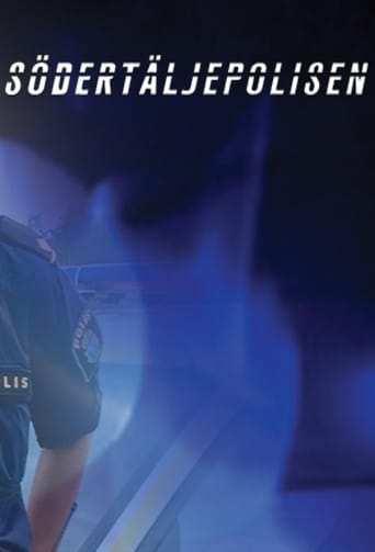 Från TV-serien Södertäljepolisen som sänds på Kanal 5