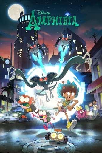 Från TV-serien Amphibia som sänds på Disney XD