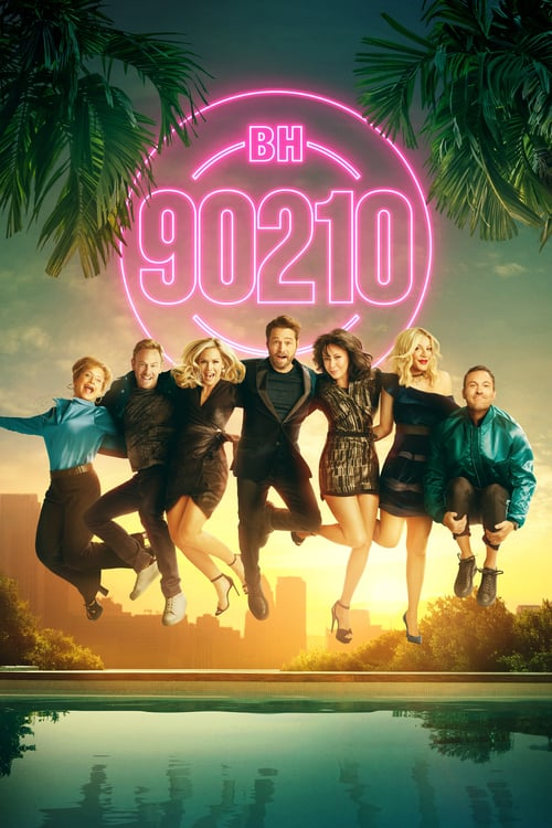Från TV-serien BH90210 som sänds på C More Series