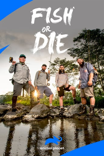 Från TV-serien Fish or die som sänds på Discovery Channel