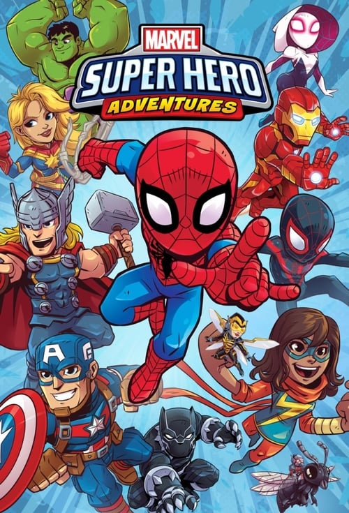 Från TV-serien Marvel Super Hero Adventures som sänds på Disney Junior