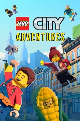 Från TV-serien Lego City Adventures som sänds på Nickelodeon