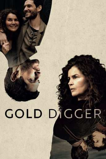 Från TV-serien Gold digger som sänds på C More Series