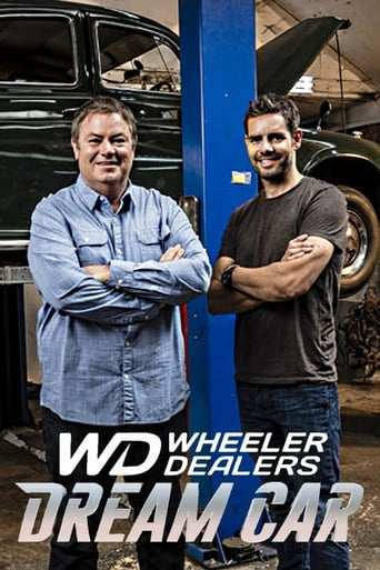 Från TV-serien Wheeler Dealers: Dream car som sänds på Discovery Channel
