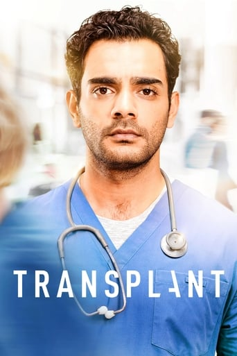 Från TV-serien Transplant som sänds på C More Series
